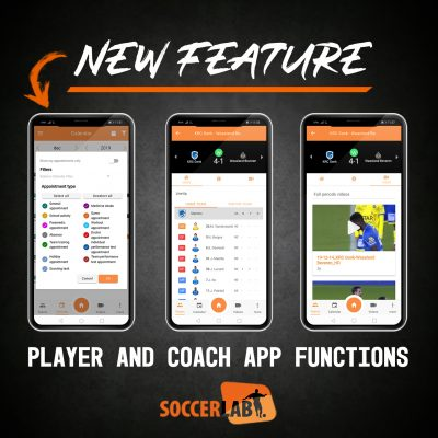 Player and coach app
