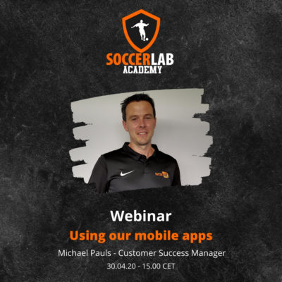 SoccerLAB Academy - Using our mobile apps - IG