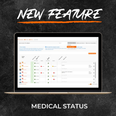 New Feature - Medical History