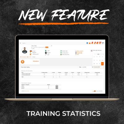 New Feature - Training Statistics